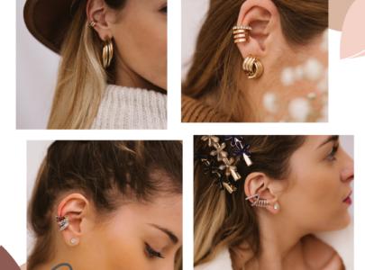 Ear cuffs: H stylish εξτραβαγκάνζα στα κοσμήματα